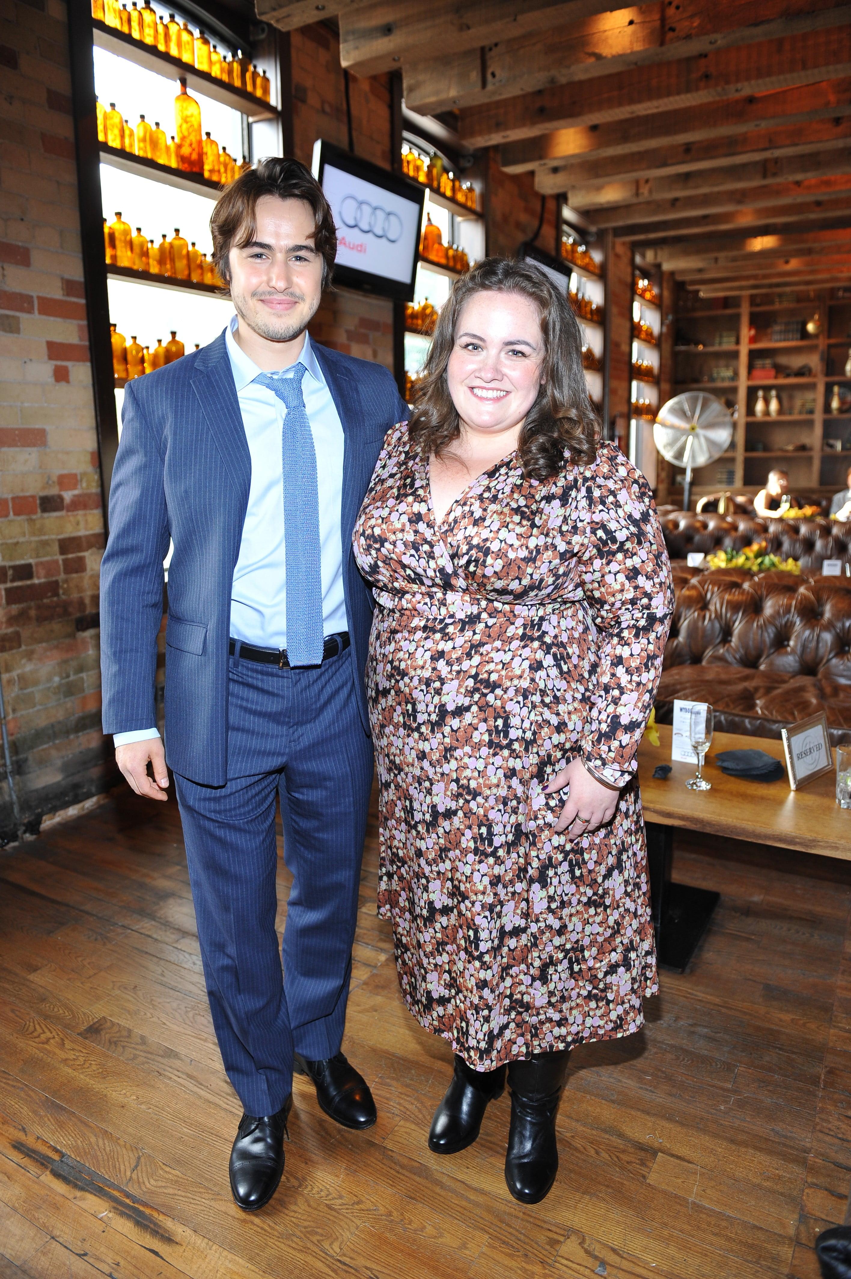 Ben Schnetzer and Jessica Gunning