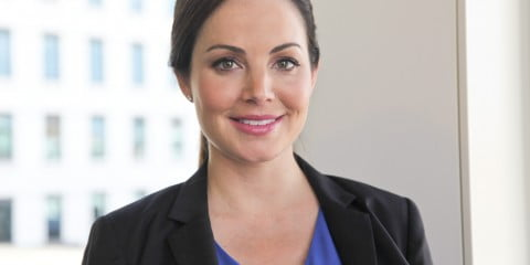 Erica Durance for Saving Hope