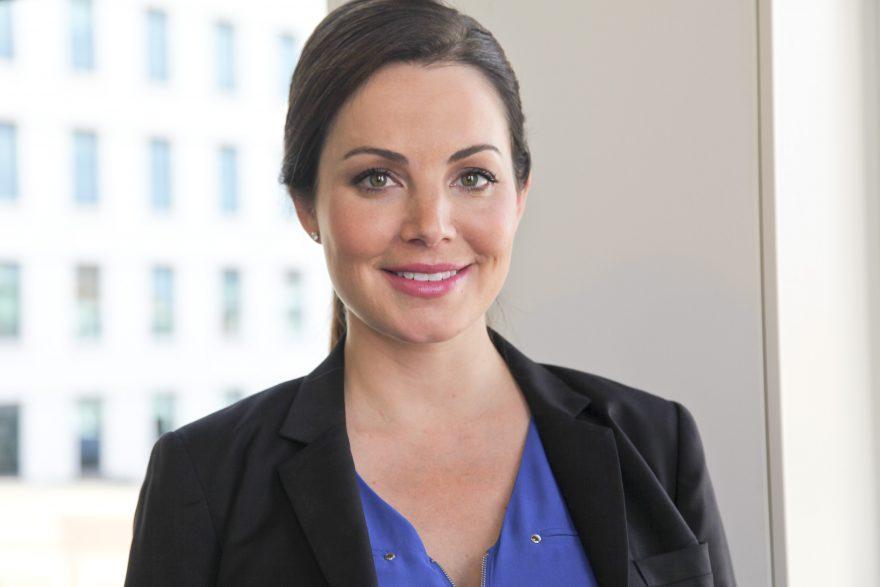 Erica Durance for Saving Hope