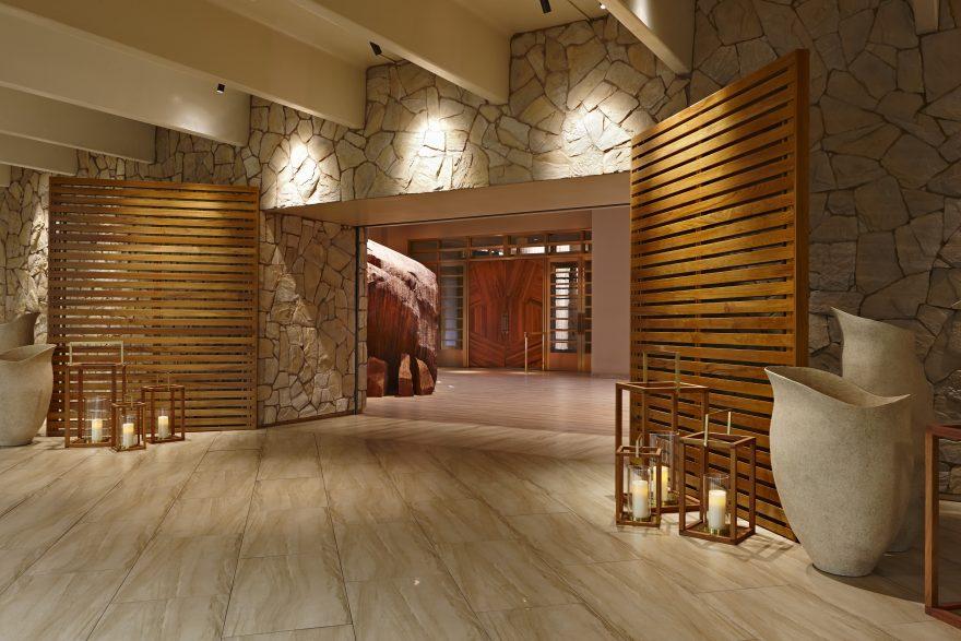 Delano entrance in Las Vegas