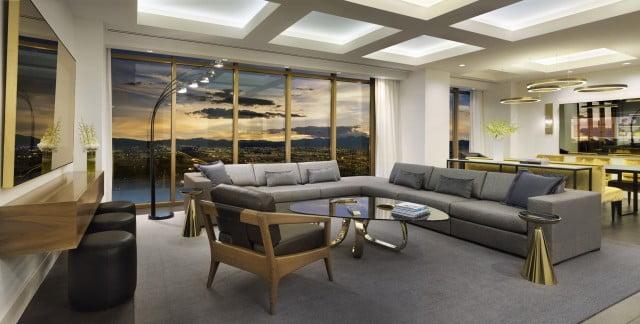 Delano Las Vegas Penthouse Living Room