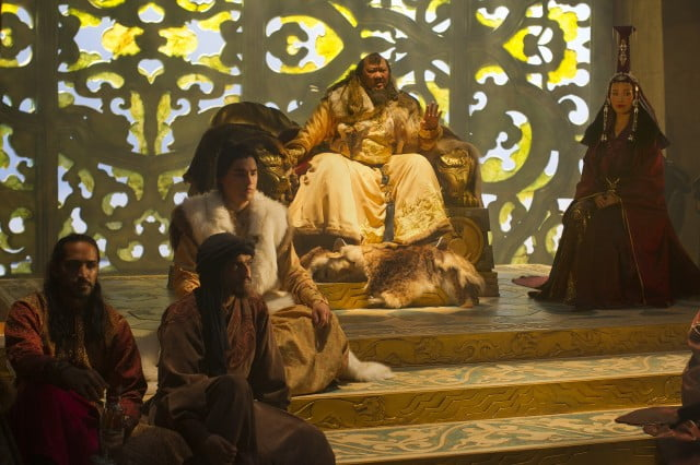 A scene from Marco Polo
