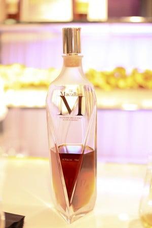 An open bottle of The Macallan M