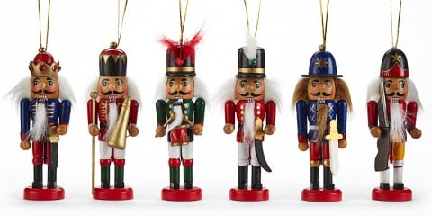 Canvas Red Traditional Nutcracker Set