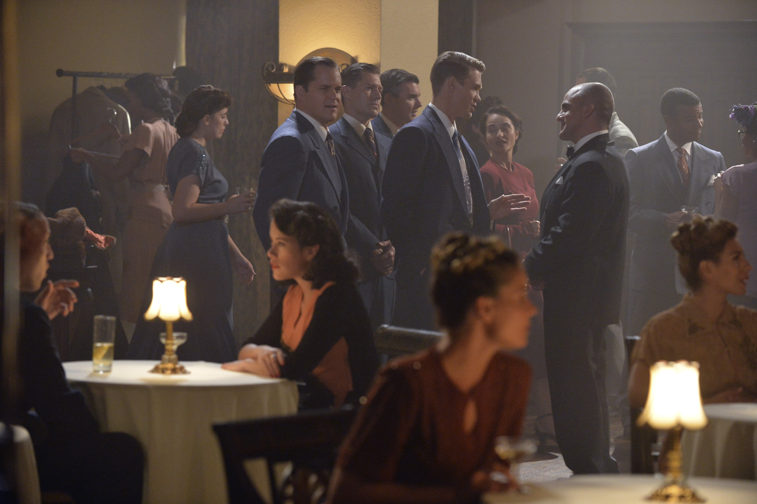 A scene from Marvel's Agent Carter