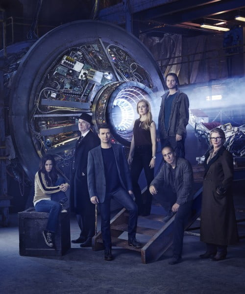 The cast of 12 Monkeys