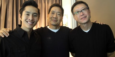 Justin Chon, Andrew Loo, and Andrew Lau