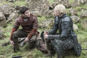 Daniel Portman and Gwendoline Christie