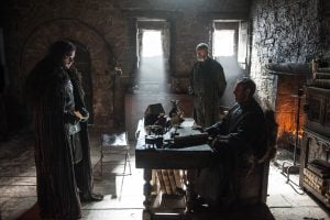Kit Harington, Stephen Dillane, and Liam Cunningham