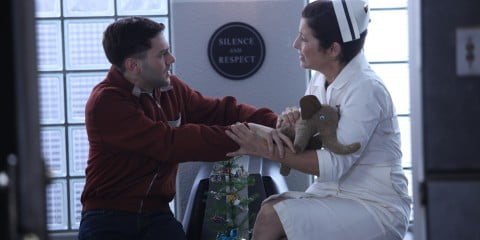 Xavier Dolan and Catherine Keener in Elephant Song