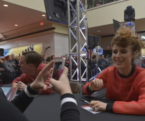 Kiesza at Juno Fan Fare