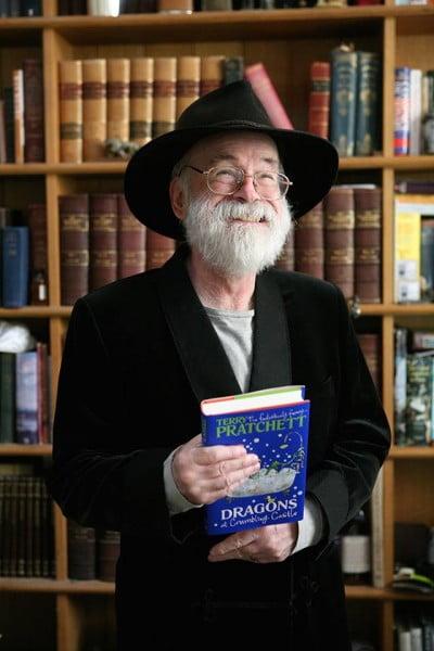 Terry Pratchett in 2014