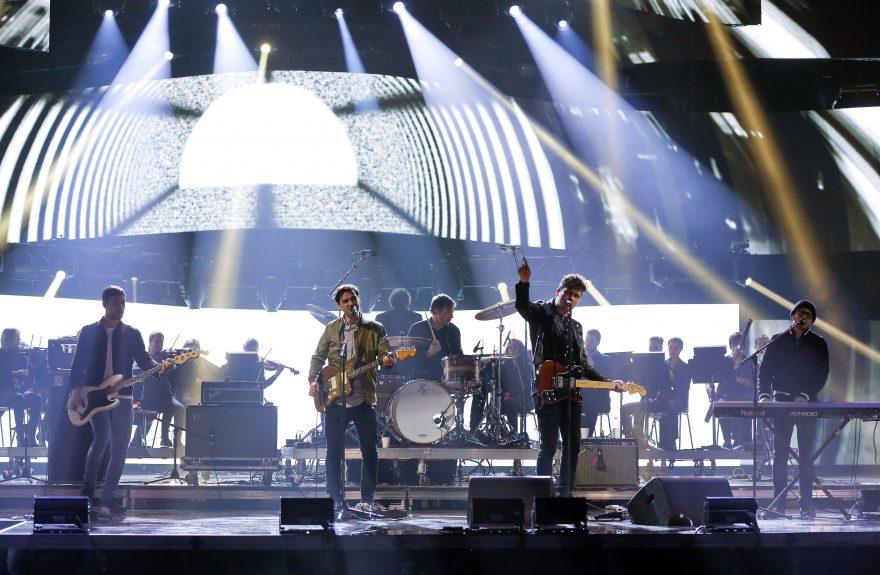 The Arkells on stage