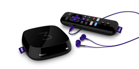 Roku 3 and remote