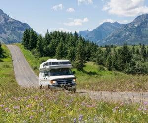 Waterton Lakes National Park in Alberta