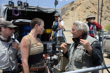 Charlize Theron and Mad Max: Fury Road director George Miller