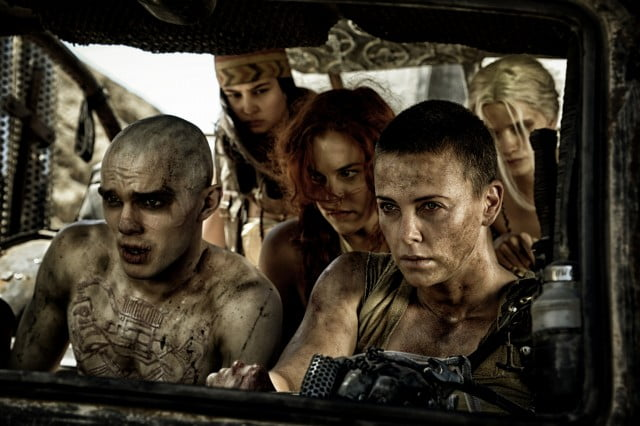 A scene from Mad Max: Fury Road