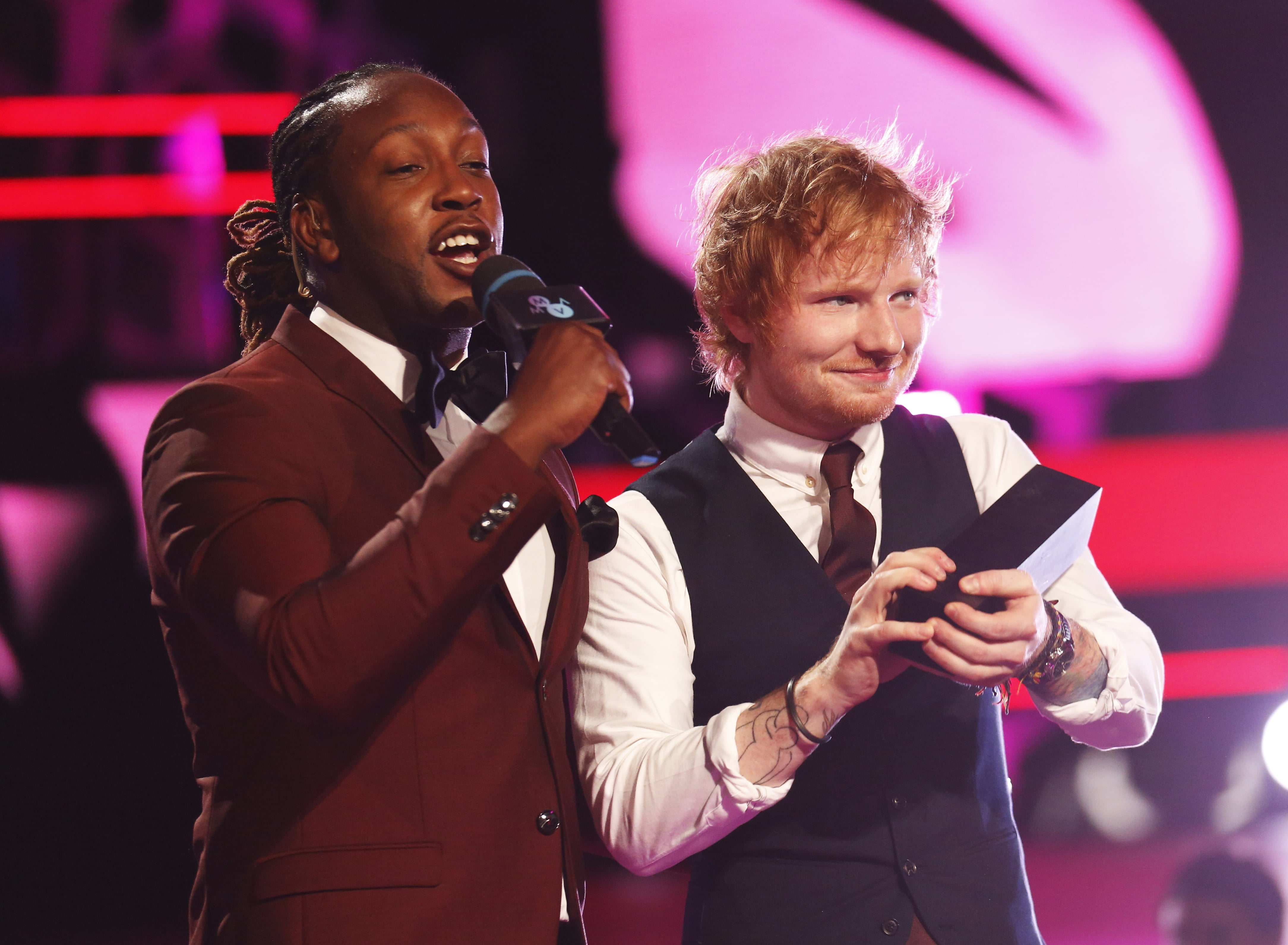 Tyrone Edwards & Ed Sheeran