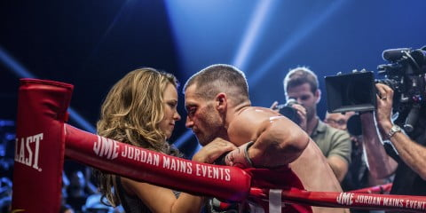 A scene from Southpaw