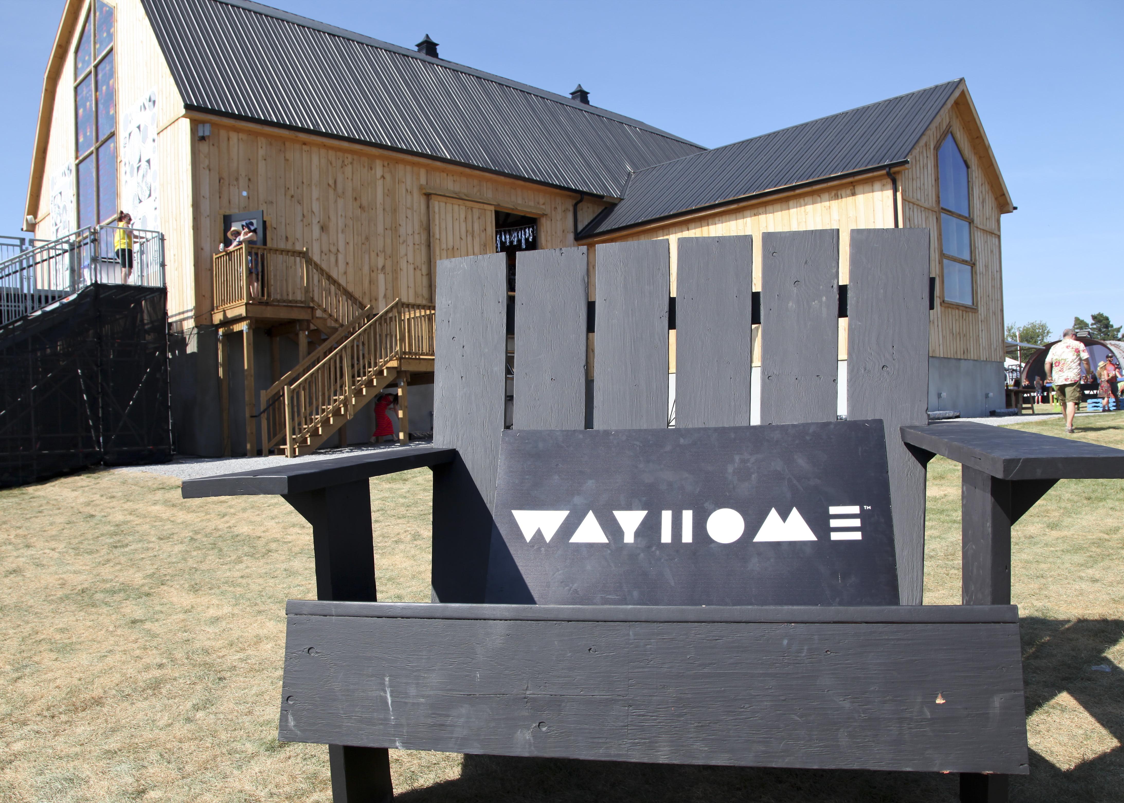 WayHome Festival VIP area