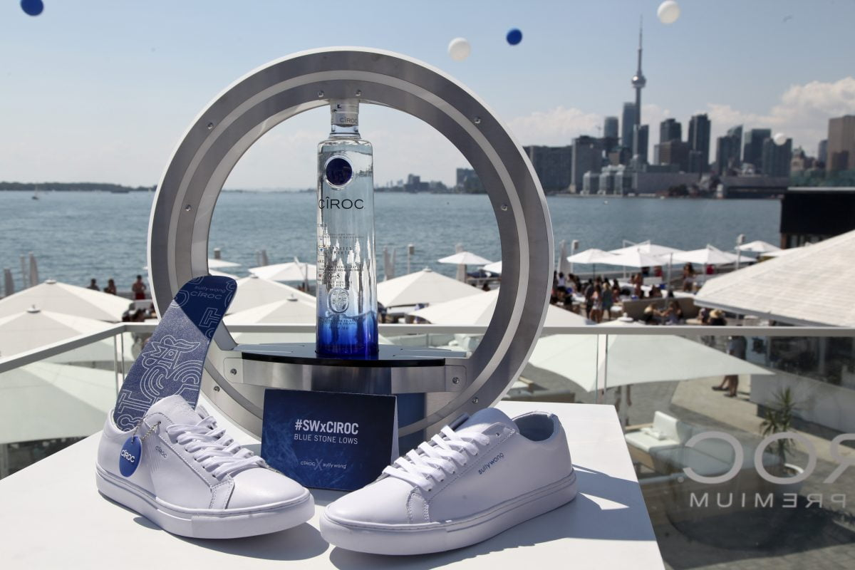 Cîroc with Sully Wong sneakers