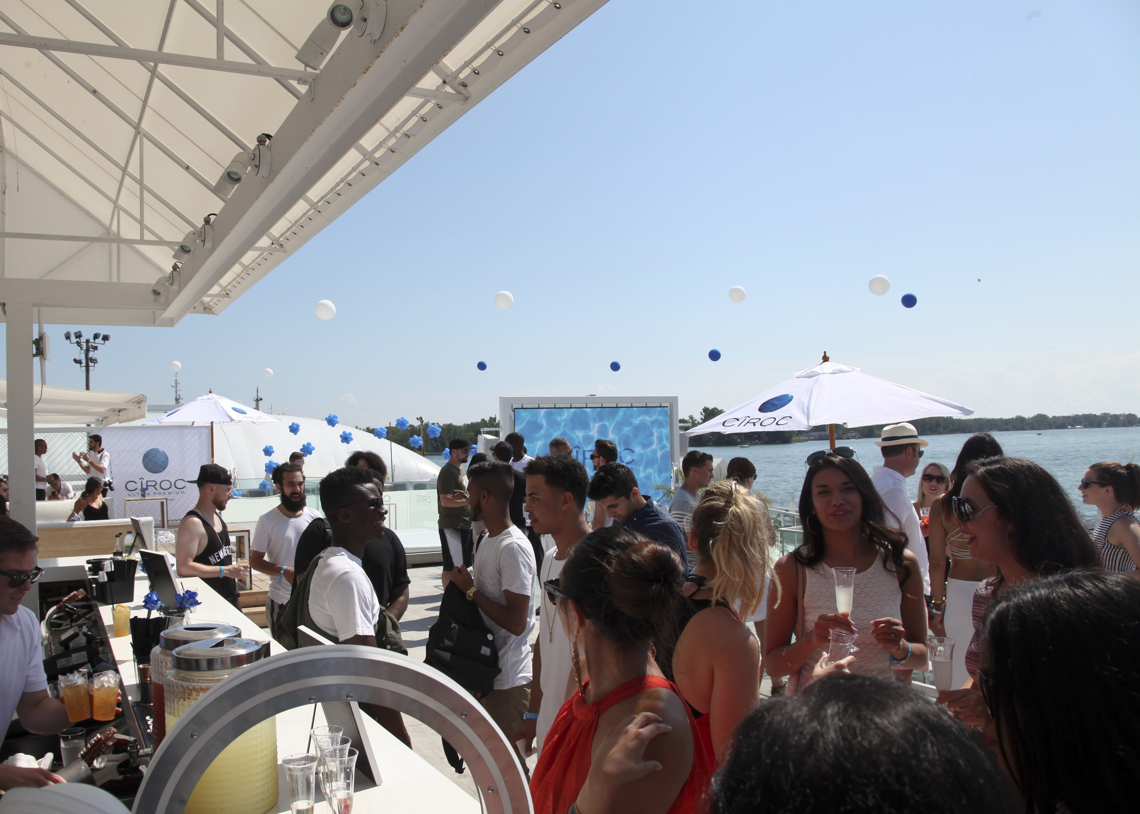 Cîroc launch party