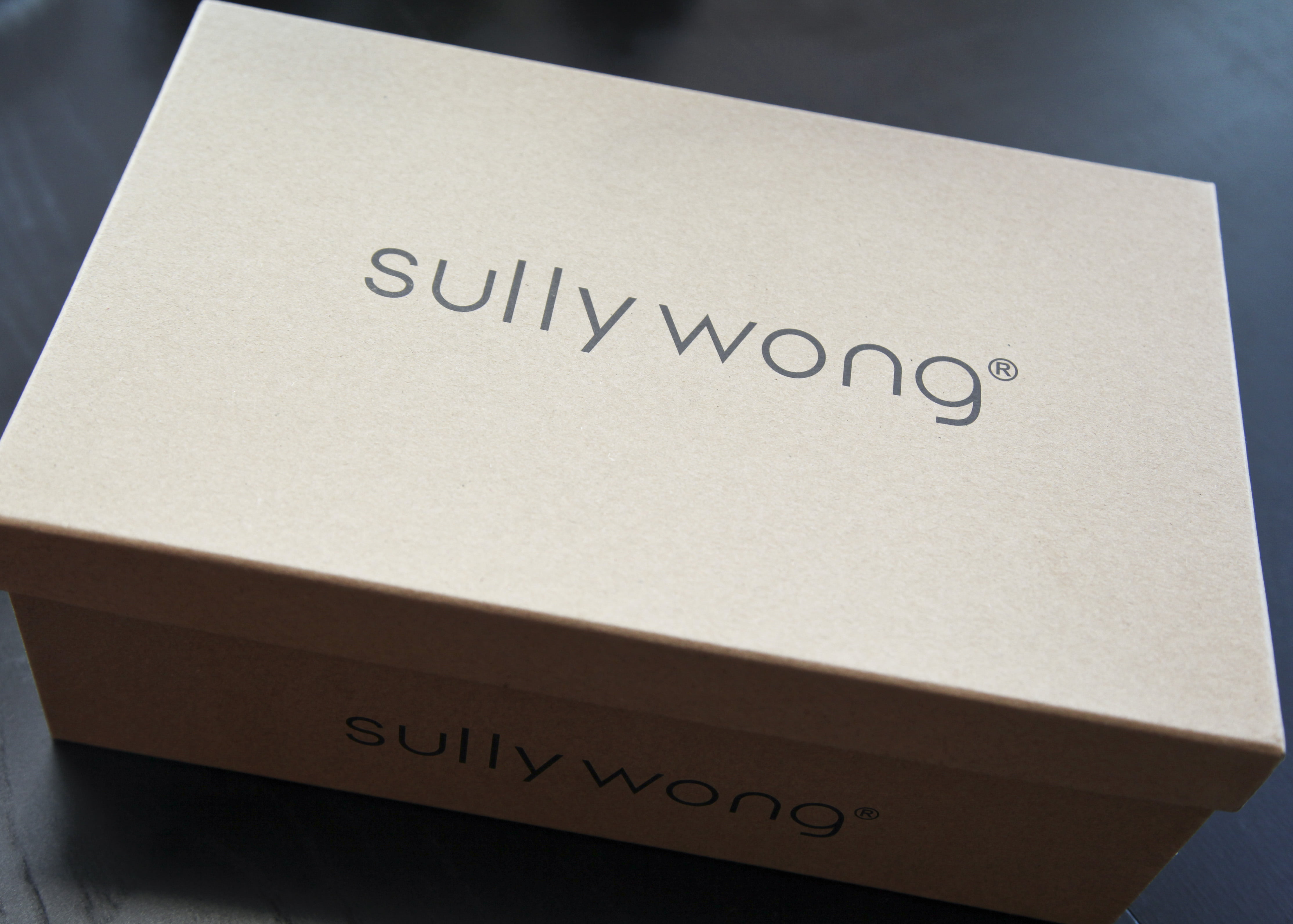 Sully Wong sneaker box