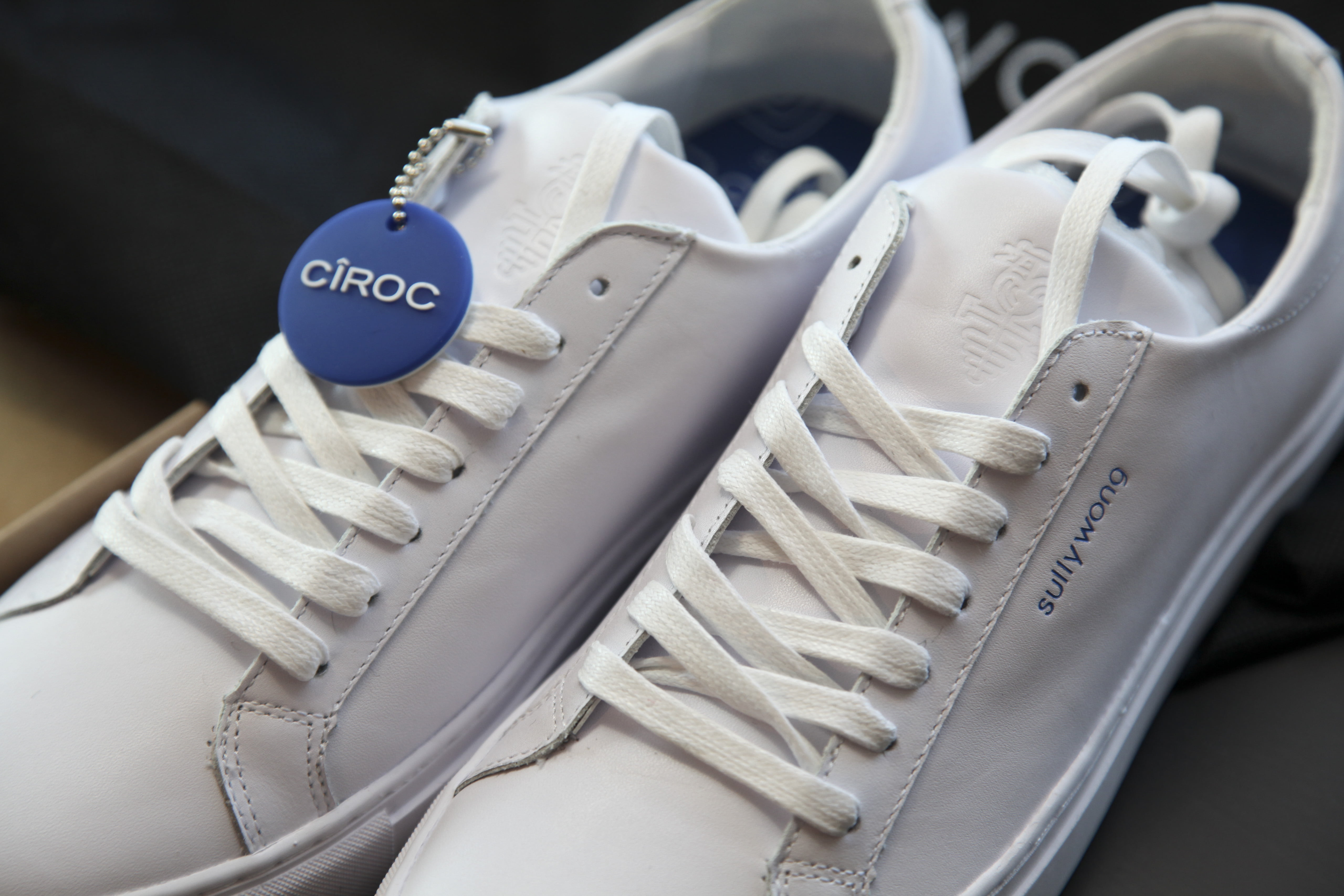 Sully Wong x Cîroc sneakers