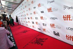 TIFF red carpet