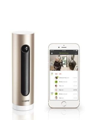 Netatmo Welcome with iPhone 6 App