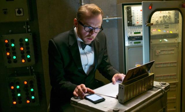 Simon Pegg as Benji