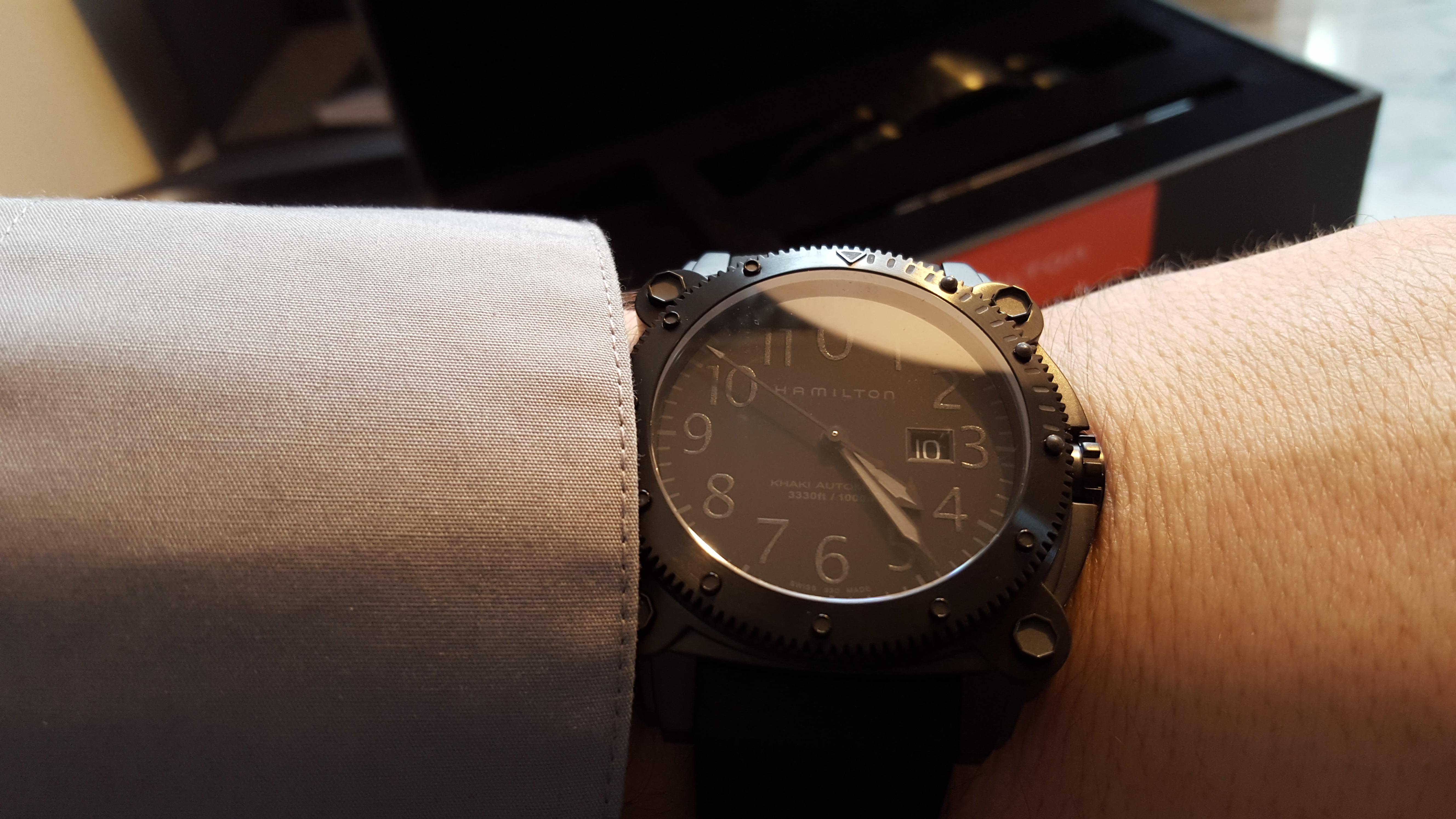 Hamilton's BeLOWZERO watch