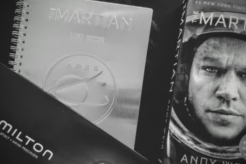 The Martian with Hamilton Watch
