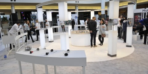 Samsung Galaxy Studio at Sherway Gardens