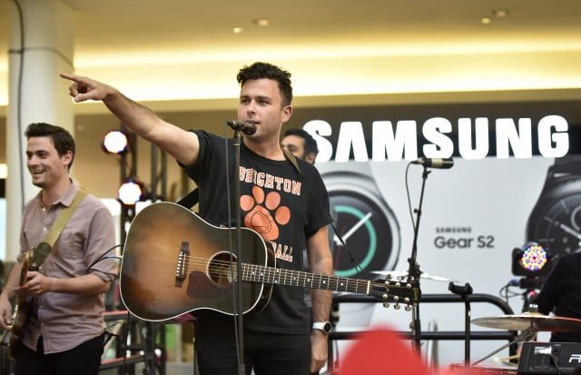 The Arkells at the Samsung Studio