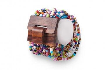 Mango Wood Beaded Bracelet