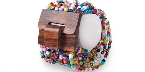 Mango Wood Beaded Bracelet