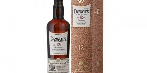 Dewar's 12 Bottle and Box