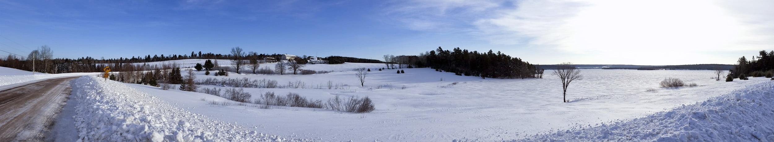 Winter in New Brunswick