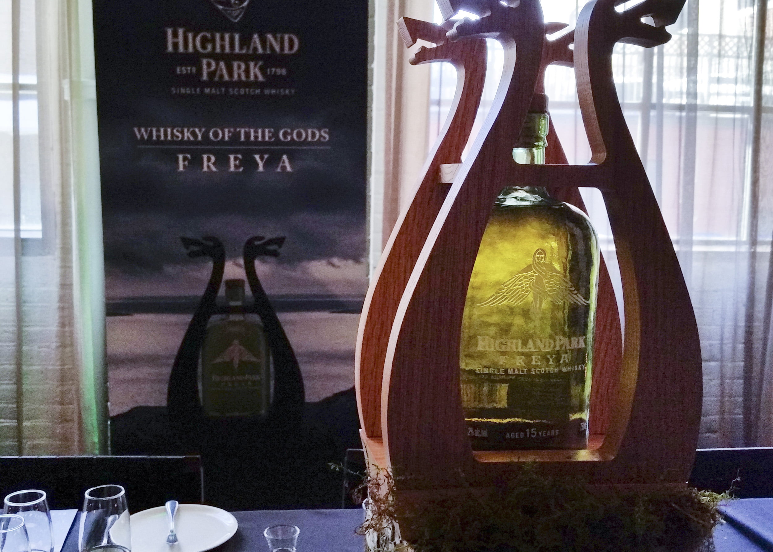 Highland Park's Freya launch