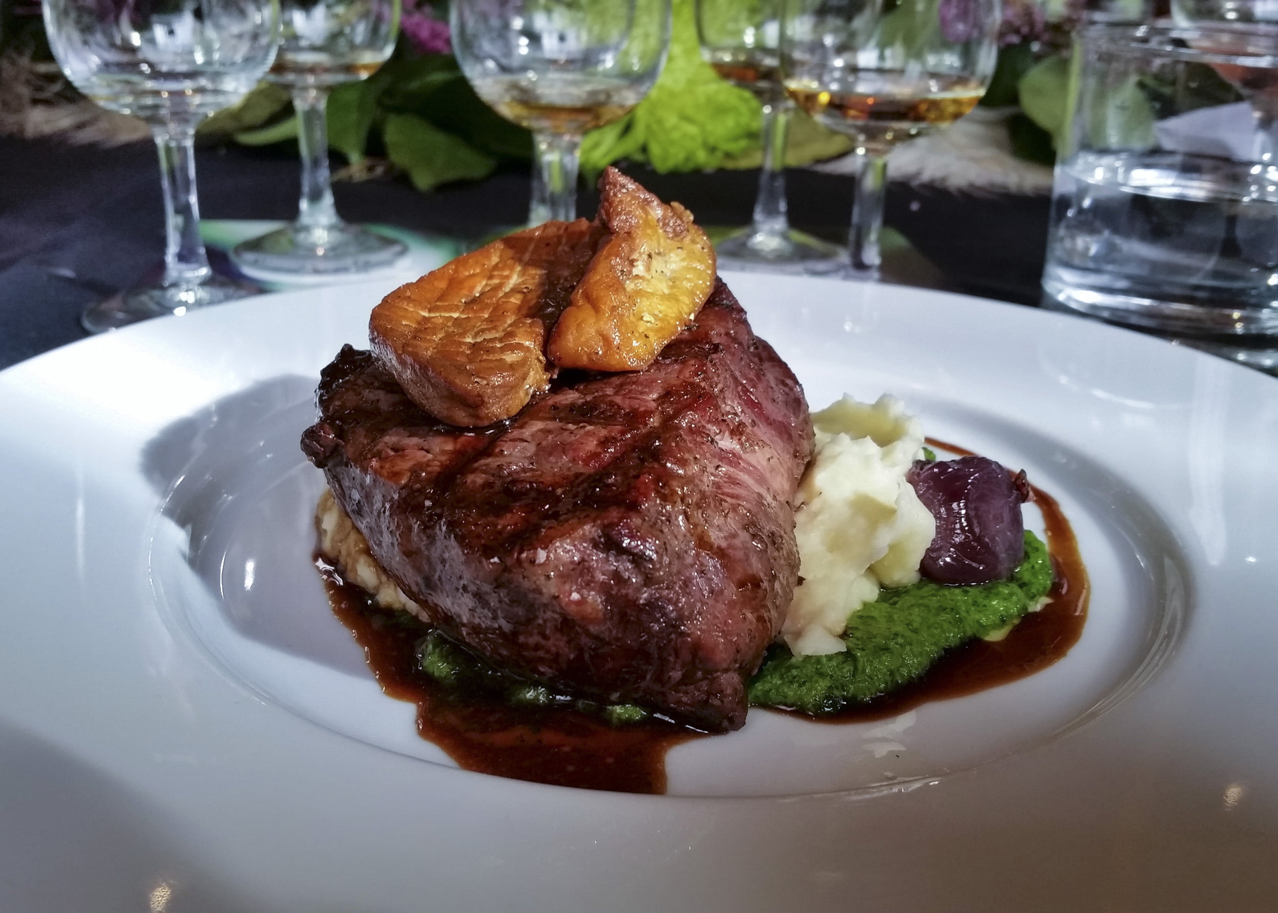 Highland Park's Freya launch dinner