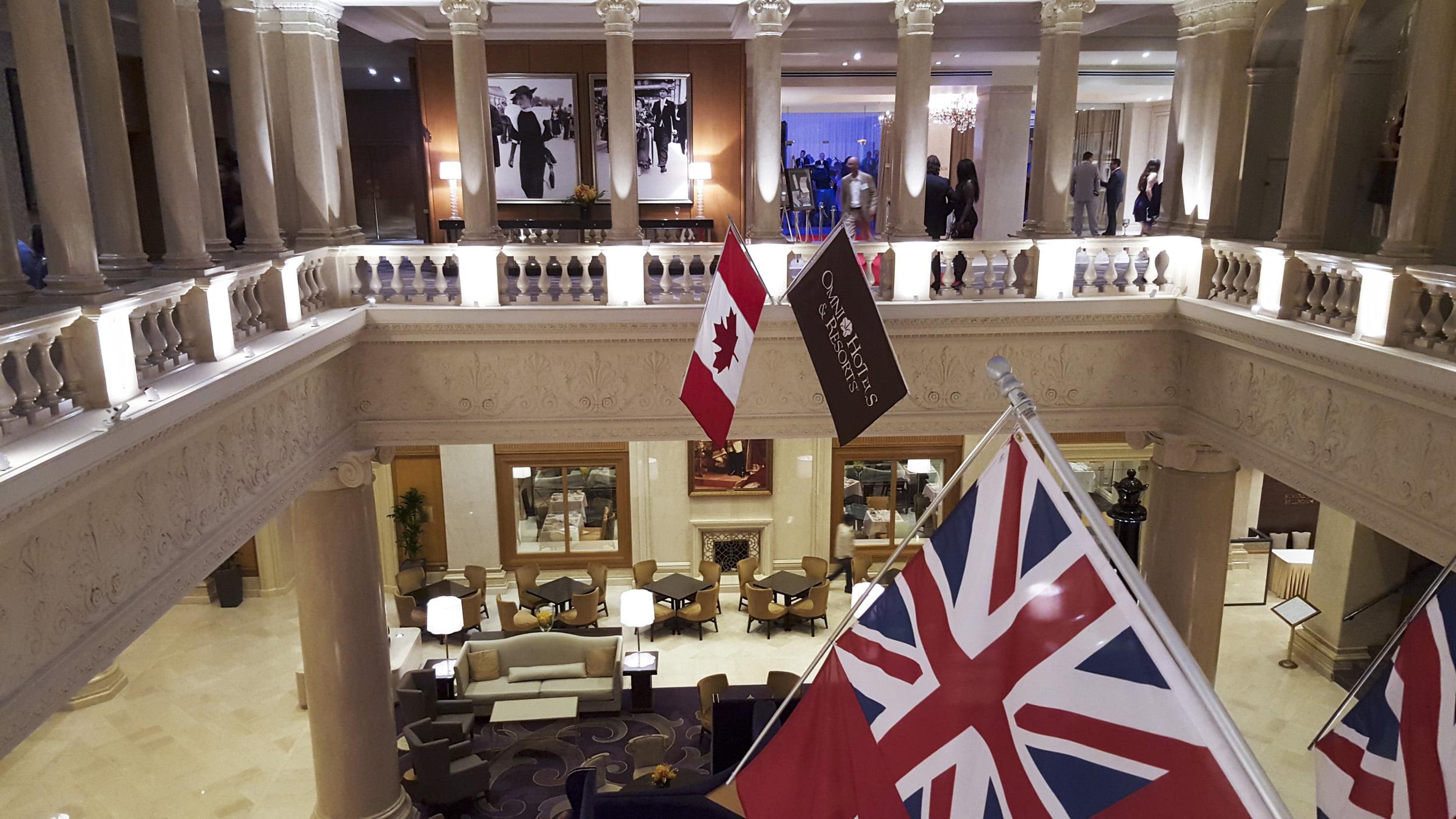 Omni King Edward Hotel lobby