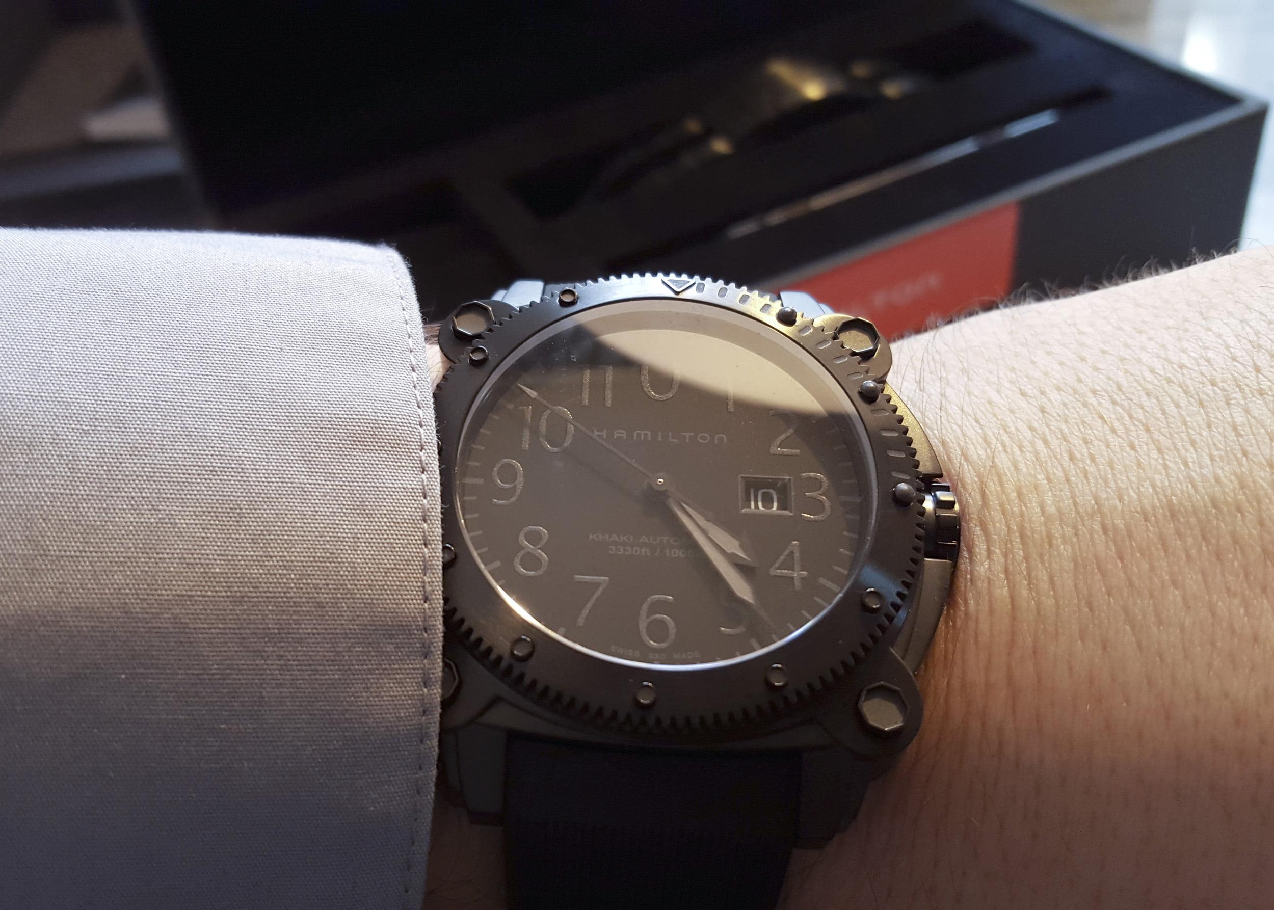 Hamilton's Khaki BeLOWZERO watch