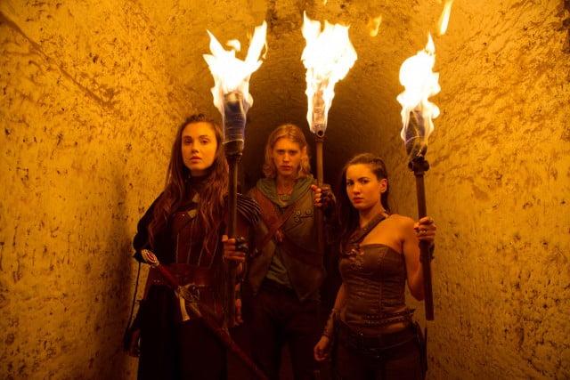 Amberle, Wil, and Eretria