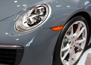 Porsche 911 Carrera S Cabriolet headlights