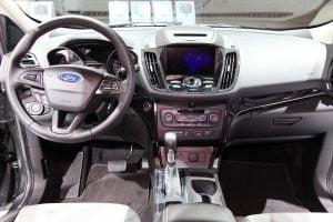 2017 Ford Escape Platinum interior