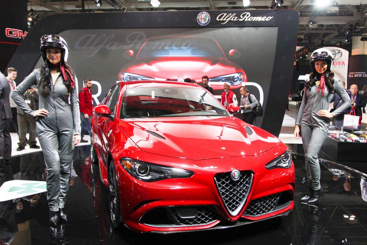 2017 Alfa Romeo Giulia Quadrifoglio reveal