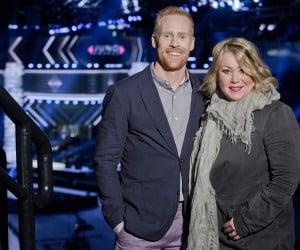 Juno Award hosts Jon Montgomery and Jen Arden