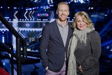 Juno Award hosts Jon Montgomery and Jen Arden