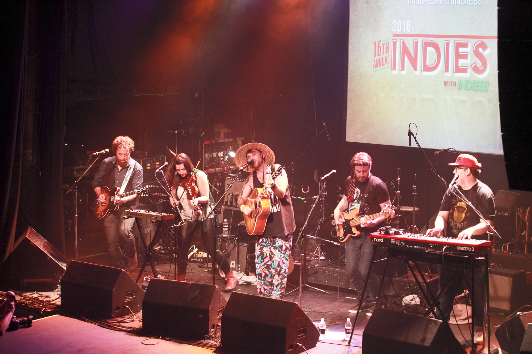 The Strumbellas at The Indie Awards